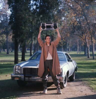 Lloyd Dobler, the anti-hero of all teenage girls in the 90's.  Photo: IMDB