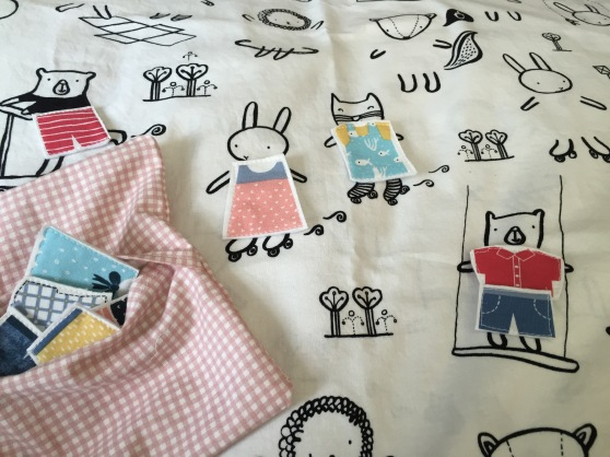 A Dress-up Pillowcase Play Kit for my niece.